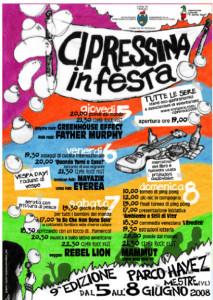 Festa Cipressina 5 - 8 giugno 2017